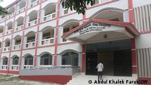 the pictures are taken in a school in Kurigram, Bangladesh where all the girl students have been married off, leaving behind only one female student, whose name is Nargis Nahar. Photo Credit Abdul Khalek Faruk, DW Permitted to use. 17/09/2021 via Shabnam Surita