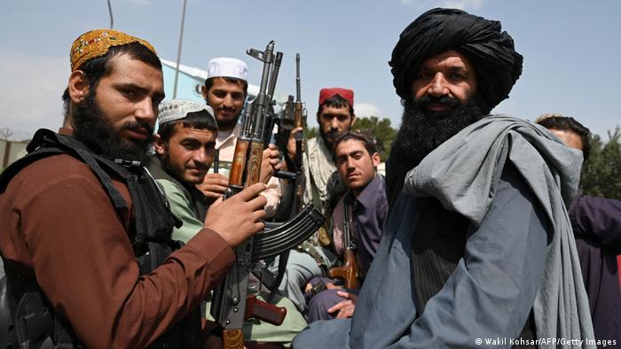 Taliban-Kämpfer in der afghanischen Hauptstadt Kabul