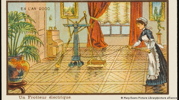 Algo que Côté y otros artistas previeron con cierta exactitud fue nuestra dependencia de los aparatos, incluidos los electrodomésticos.