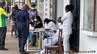 Mosambik   Coronavirus   Impfungen in Inhambane