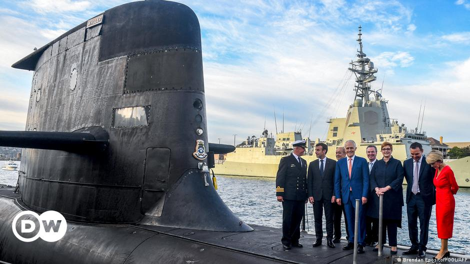 France recalls ambassadors from the US and Australia over submarine deal