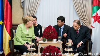 Angela Merkel rencontre Abdelaziz Bouteflika (17.09.2018)