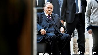 Abdelaziz Bouteflika lors des élections locales de novembre 2017