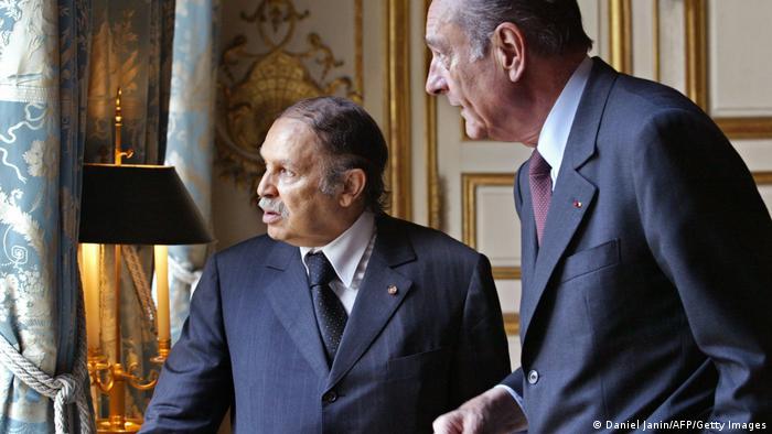 Jacques Chirac und Abdelaziz Bouteflika