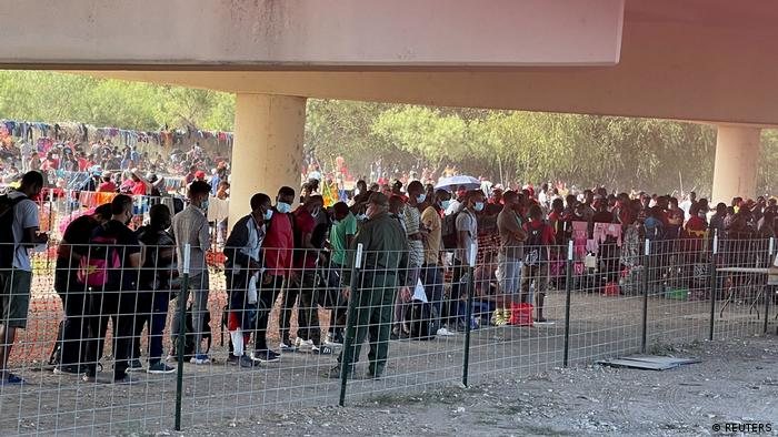 Гаїтянські мігранти на американсько-мексиканському кордоні