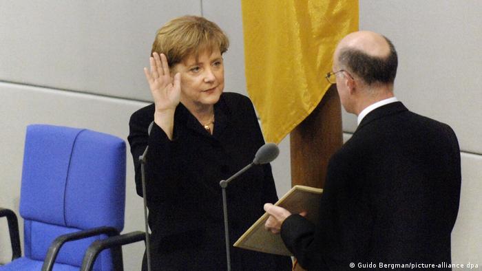 Vereidigung Bundeskanzlerin Merkel 2005