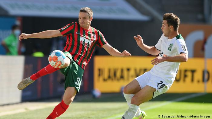 Fußball Bundesliga   Augsburg - Mönchengladbach