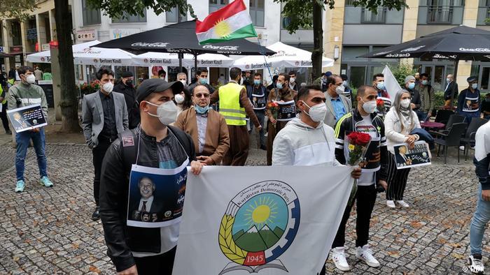 مراسم سالگرد ترور میکونوس در برلین