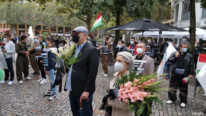 مراسم سالگرد ترور میکونوس در برلین؛ ۲۹ سال از حادثه ترور میکونوس گذشت