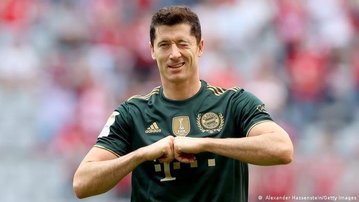 München | FC Bayern München - VFL Bochum | Bundesliga | Torschuss 5:0 Robert Lewandowski