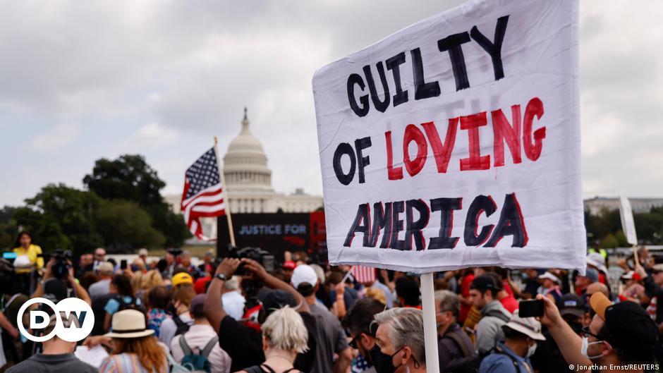 US Capitol: Pro Trump protest draws just a few hundred