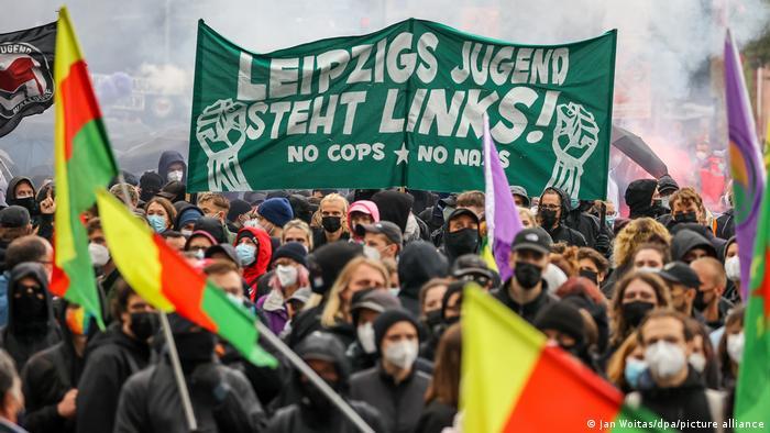 Wir sind alle LinX-Demo in Leipzig