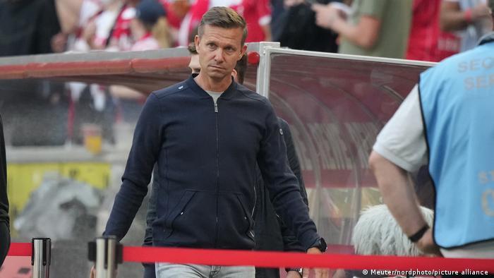 RB Leipzig coach Jesse Marsch
