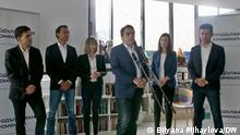 Bulgarien, Sofia Pressekonferenz Die Wende geht weiter.
