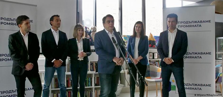 Кирил Петков и Асен Василев представиха политическия си проект