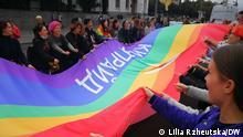 19.09.2021 Kyiv-Pride am 19.09 in der Hauptstadt der Ukraine.