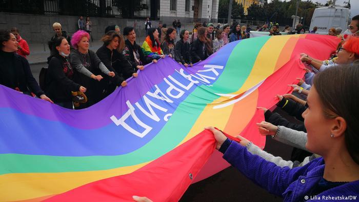 Учасники Маршу рівності-2021 у Києві