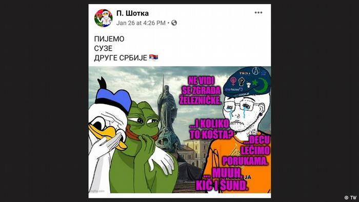 New Age Tschetniks Serbien