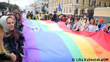 19.09.2021 Kyiv-Pride am 19.09 in der Hauptstadt der Ukraine