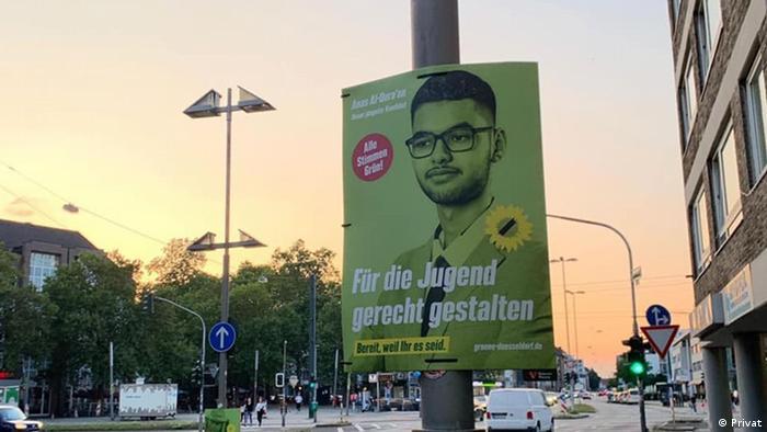 المرشح للبوندستاغ عن حزب الخضر أنس القرعان