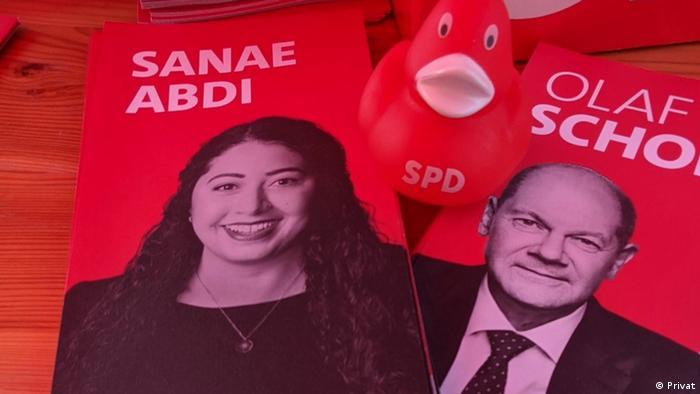 المرشحة للبوندستاغ عن الحزب الاشتراكي سناء عبدي