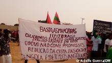 18.09.2021 UNITA-Anhänger fordern bei Protesten freie und faire Wahlen