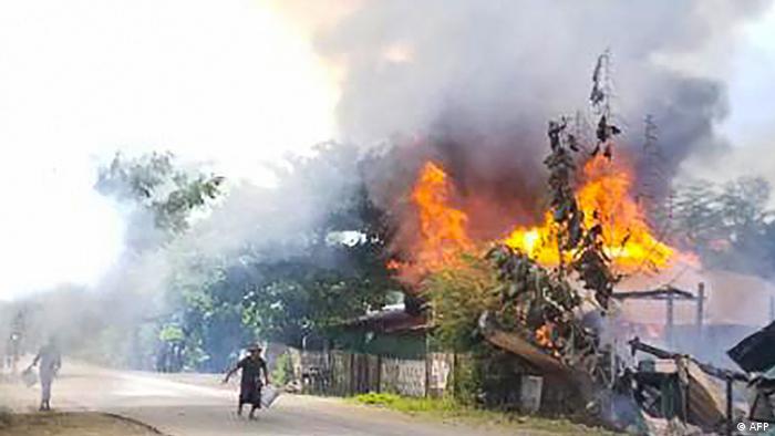 Myanmar  Unruhen in Magway
