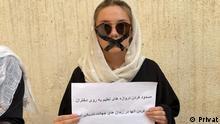 19,9.2021. Demonstrationen von Frauen in Kabul. Frauen haben heute in Kabul gegen die Taliban protestiert. Die Taliban haben erklärt, dass Mädchen nicht zur Schule gehen dürfen.