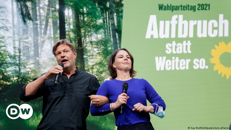 German election: Annalena Baerbock calls for a 'climate protection government'