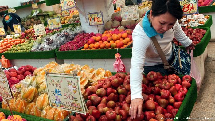 Taiwan droht, China in neuem Streit um Obst vor die WTO zu bringen