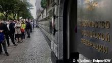 Russische Botschaft in Berlin, 19.9.2021.