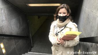 Яна из Ульяновска собирает данные о проголосовавших в центре Берлина на выборах в Госдуму