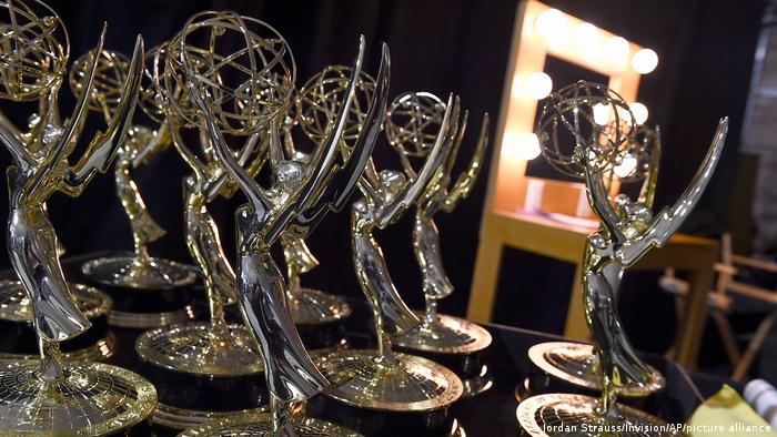 Статуэтки Emmy в Лос-Анджелесе
