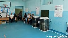 September 2021 Wahlen in Russland.