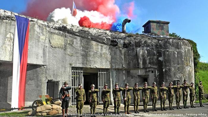Utvrda Hurka 23.9.2021. prilikom obilježavanje obljetnice mobilizacije iz 1938.