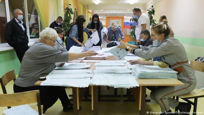 Подсчет голосов в Туле