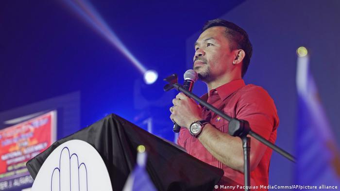 Philippinen Ex-Boxer Manny Pacquiao