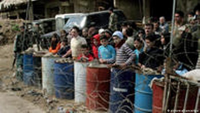Flüchtlingslager Nahr al-Bared soll wieder aufgebaut werden (picture-alliance/dpa)
