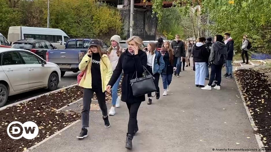 """Schießerei an der Uni Perm: """"So ein Massaker hat es hier noch nie gegeben"""""""