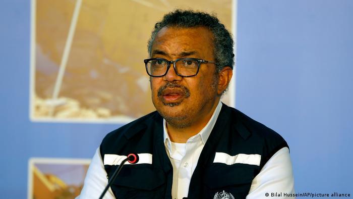 (WHO) Generaldirektor Tedros Adhanom Ghebreyesus