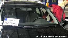 Border crossings with Serbia and replacement of temporary license plates in cars