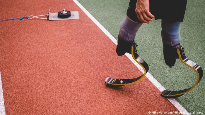 Beinprothese Laufprothese Sport Paralympics