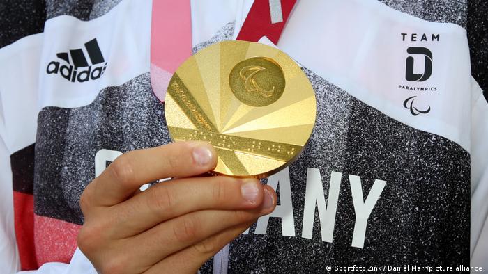 Empfang von Taliso Engel Goldmedaille