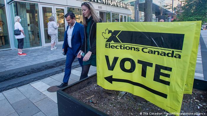 Kanada | Parlamentswahl |Stimmabgabe in Halifax