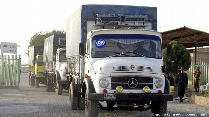 Un cargamento de medicamentos en Afganistán enviado por UNICEF en una imagen de archivo.