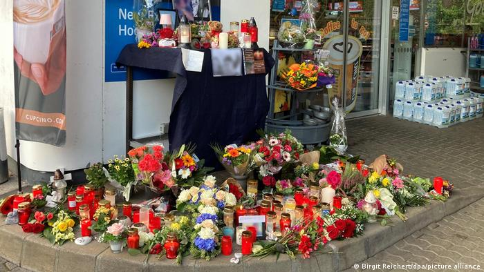 Gas station in Idar-Oberstein where a clerk was killed