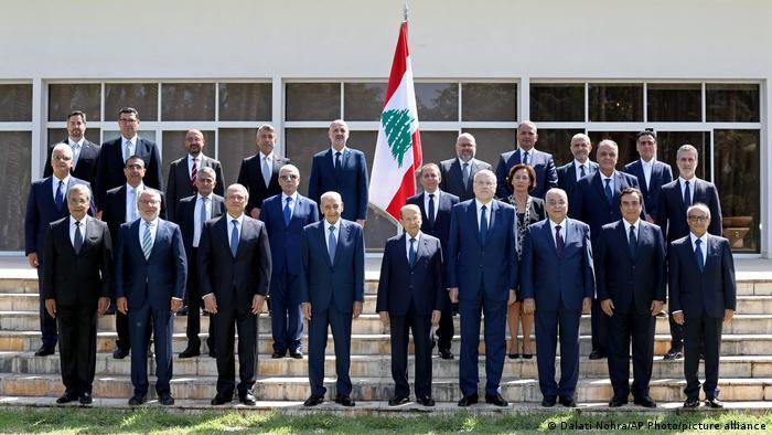 کابینه دولت لبنان به نخستوزیری نجیب میقاتی
