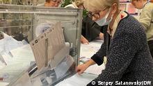 17.09.2021 Wahllokale in Sankt-Petersburg