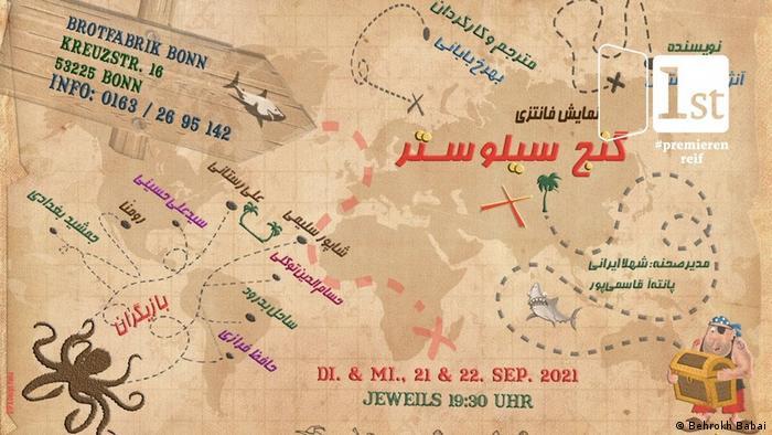Theaterstück Sylvesters Schatz von Regisseurin Behrokh Babai