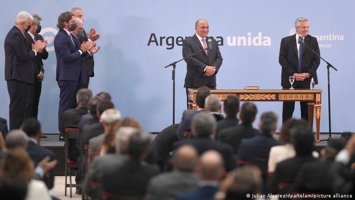Kabinettswechsel in Argentinien